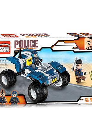 """Конструктор Brick """"Police"""" кор.30 * 17,5 * 5см"""
