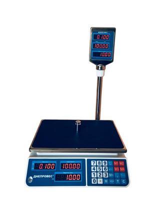 Весы Торговые Днепровес до 6, 15, 30 кг (втд-ел)