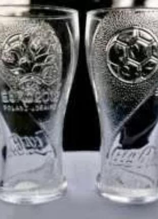 Склянки Coca-Cola (скло, кераміка) / Стаканы Coca-Cola / кола