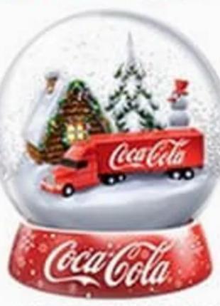 Снігова кулька Coca-Cola 2017 / Шар Coca-Cola 2017 / шар, кола