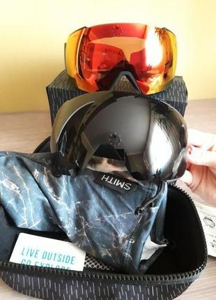 Комплект очки для сноуборда,лыжные i/o smith mag 4300 грн.