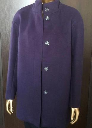 В наличии - деми-пальто с воротником-стойкой *blue motion* в д...