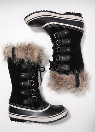 Сапоги зимние на сильные морозы sorel women's joan of arctic 3...