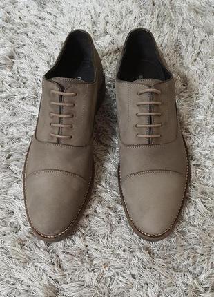 Туфлі odran від minelli нат.нубук р. 41.