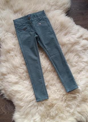 Микровельветовые штаны/брюки kiabi (франция) на 3-4 годика (ра...