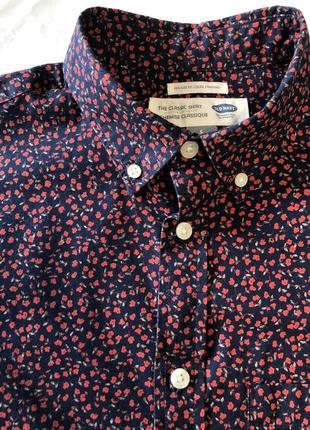 Рубашка old navy с принтом !