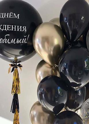 Воздушные и гелиевые шары, украшение мероприятий шарами.