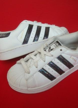 Кроссовки Adidas Superstar оригинал 27-28 размер