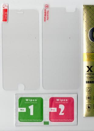 Защитное стекло для iPhone 6 (на переднюю и заднюю панель)
