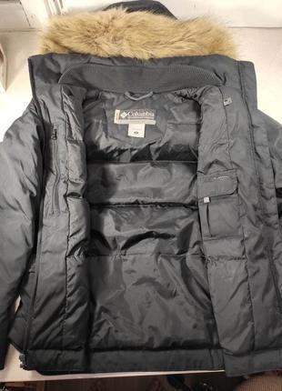 Columbia женский пуховик куртка зимняя