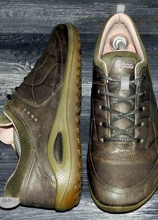 Ecco biom ! оригинальные, кожаные, невероятно крутые кроссовки