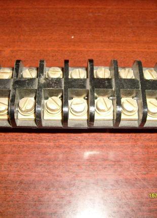Клемный блок КБ-10-10