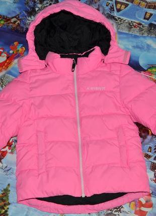 Зимняя куртка everest швеция для девочки 104см
