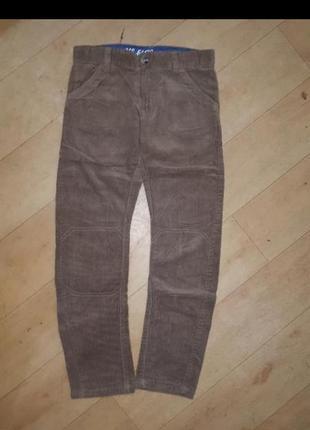 Микровельветовые брюки mothercare 134