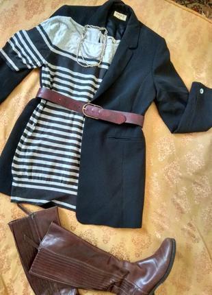 Базовое трикотажное платье мини