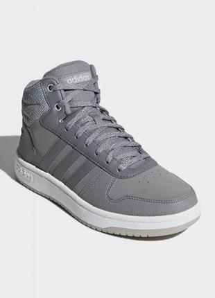Женские кроссовки adidas hoops 2.0 mid w(артикул:b42106)