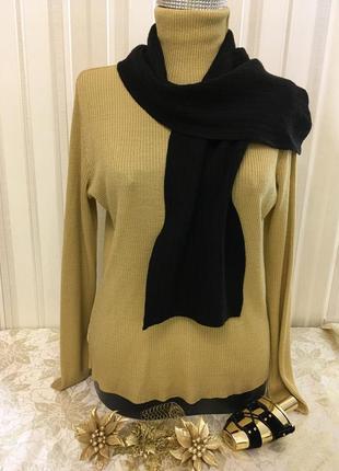 Супер черный шарф/ангора/шерсть/мягкий шарф/теплый шарф/