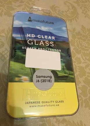 Защитное стекло MAKEFUTURE для Samsung Galaxy J6 2018 J600