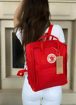 Яркий и прекрасный женский рюкзак  fjallraven kanken classic в...
