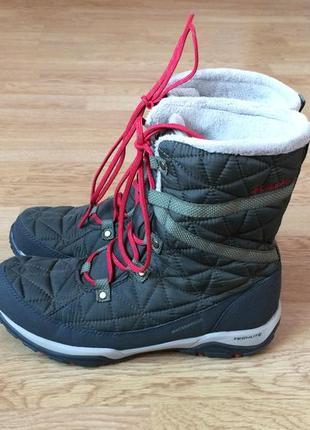 Зимние термо ботинки columbia 39,5 размера