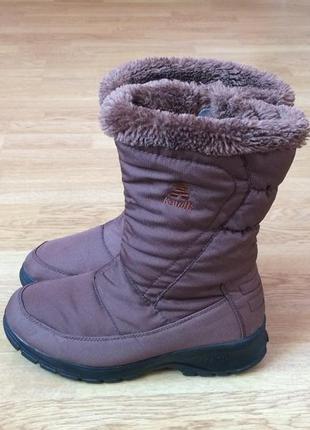 Зимние сапоги kamik 38 размера в идеальном состоянии