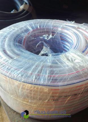Шланг ПВХ 8х10 мм напорный вода, масло, технические жидкости