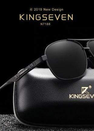 KINGSEVEN 2019 бренд Алюминий солнцезащитные очки поляризованные