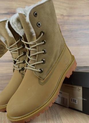 Зимние ботинки timberland boot