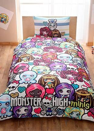 Детское подростковое постельное белье tac disney monster high ...