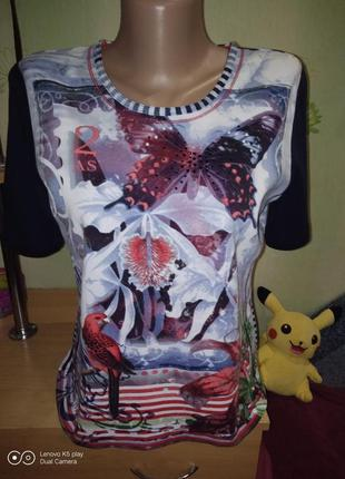 Шикарная футболка девушке m-l-rabe-германия-