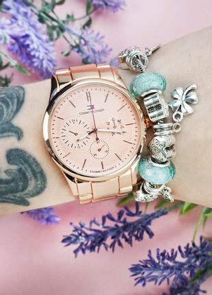 Женские наручные часы Tommy Hil + браслет SKPAN