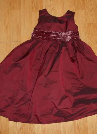 Платье нарядное на девочку 4 года
