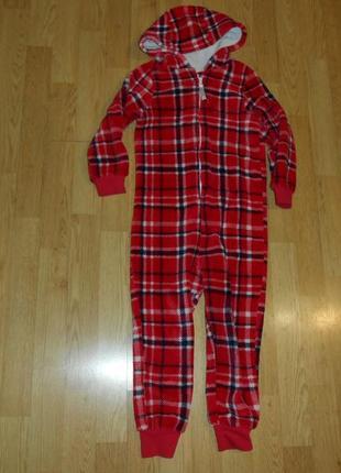 Пижама-человечек на девочку 4-5 лет
