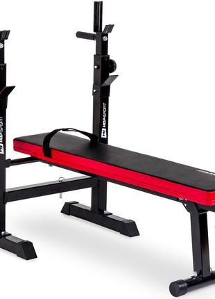 Скамья домашняя для жима лежа до 250 кг Hop-Sport HS-1080