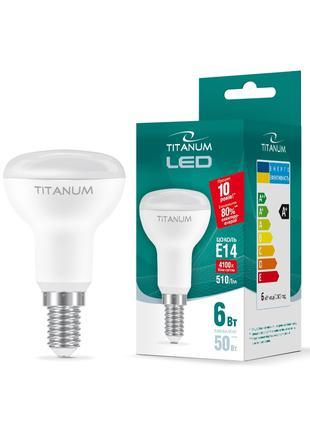 LED лампа TITANUM R50 6W E14 4100K