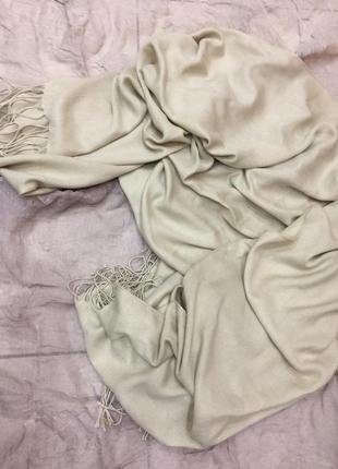 Большой шарф палантин шаль полиестр вискоза италия