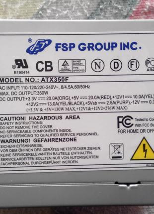 Блок питания для ПК-MODEL NO.:ATX350F.