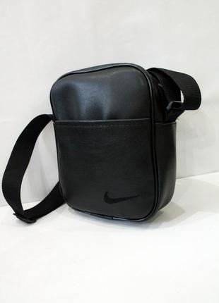 Барсетка, сумка, сумка через плечо, эко кожа, мужская сумка