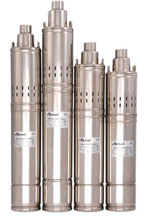 Погружной глубинный насос для скважин шнековый 4SQGD 1,8-100-0...