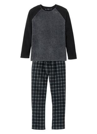 Флисовая пижама livergy. размер l, xl