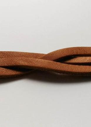 Браслет из натуральной кожи, размер регулируется 19,5 см, 18 с...