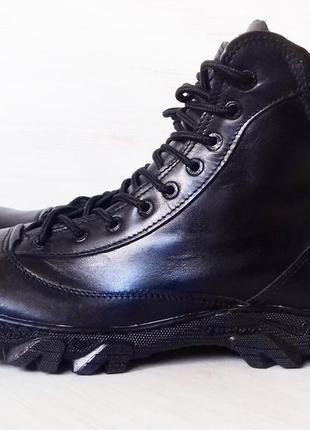 Новые ботинки из натуральной кожи, прошитые, все размеры, сток