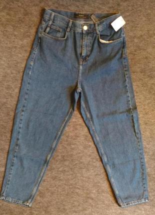 Новые джинсы zara, синие