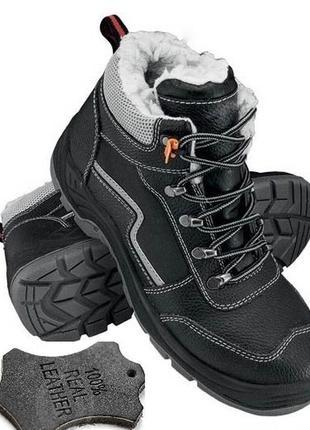 Новые зимние ботинки,натуральная кожа.