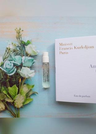 Amyris Femme Maison Francis Kurkdjian _Оригинал EDP_2 мл затест