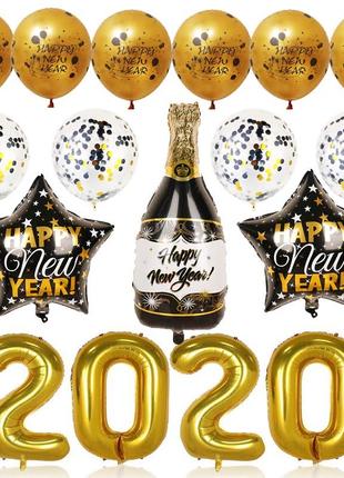 Воздушные шарики Новый Год 2020