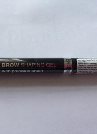 Гель для бровей прозрачный  isadora brow shaping gel