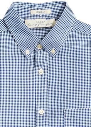 Клечатая рубашка h&m !