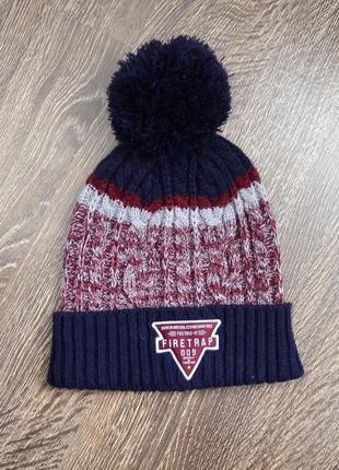 Оригинальная теплая шапка firetrap ® beanie hats