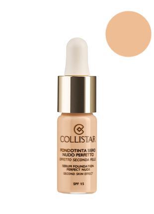 Collistar K44452 Serum Foundation Perfect Nude Second Skin Eff...